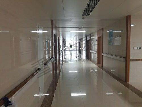 【重庆】南商龙济康复医院防撞扶手安装项目