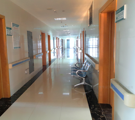 湖北省黄冈市中心医院整体搬迁建设项目医用防撞扶手顺利签约