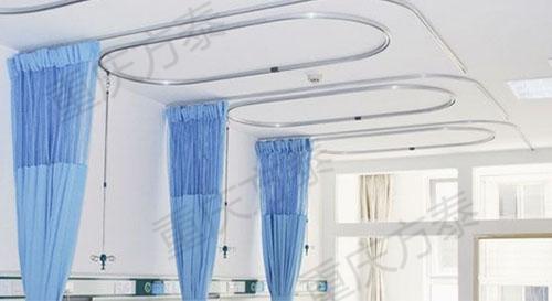L型隔帘轨道与O型输液天轨